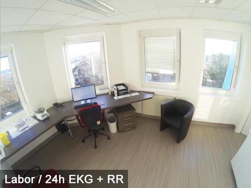 RT-Labor/24h EKG + RR